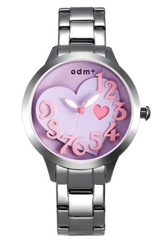 Odm - Jam Tangan Wanita - DM010-03 - Silver Purple