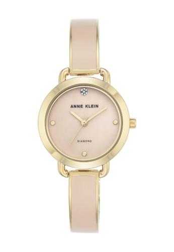 Anne Klein gold Anne Klein Women's Diamond Bangle Bracelet Watch - AK/2438LPGB 80C31ACAB83B46GS_1