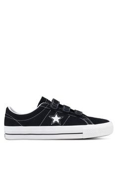 1b579aa4db72b Converse black One Star Pro 3V Suede Ox Sneakers 38168SH8A31F14GS 1