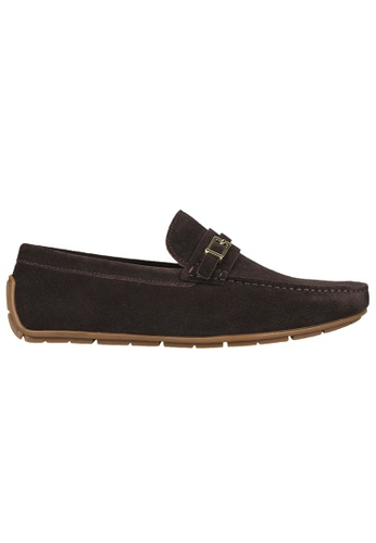 Tomaz brown Tomaz C358 Front Buckled Loafers (Coffee) 75459SH56B9124GS_1