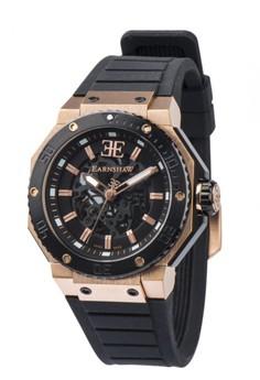 Thomas Earnshaw Invincible Es-0015-01 Men's Integrated PU Strap Watch