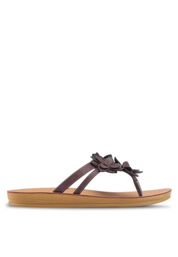 Noveni 褐色 休閒涼鞋 EEE24SH9885023GS_1