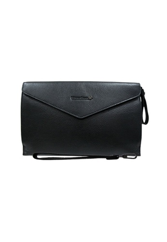 EXTREME black Extreme Leather Clutch Bag 91DFDACB9159B4GS_1