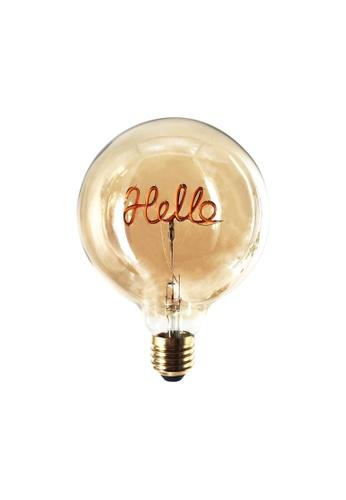 Klosh KLOSH Zogi Mula LED Word Bulb - Hello 1813FESE0CD5AFGS_1