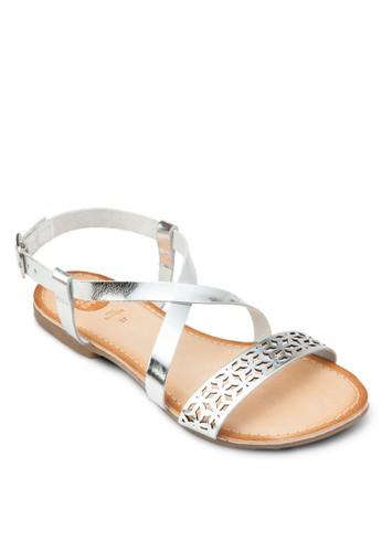 Villeneuve 雕花羅馬涼鞋, 女鞋esprit門市地址, 鞋
