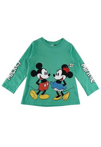 KIDS ICON green KIDS ICON - T-shirt Lengan Panjang Anak Perempuan 3-36 Bulan Minnie with Printing detail  - MG1L1200200 9E6C6KA5D23AD9GS_1