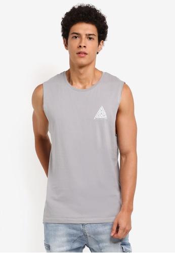 Factorie grey No Show Muscle 83BB7AA52D308BGS_1
