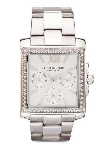 Victoria 水晶飾方框zalora 衣服尺寸手錶, 錶類, 飾品配件