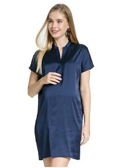 df0a57f302300 Mayarya navy Brera Maternity and Nursing Dress A0506AA6C70F4EGS_1