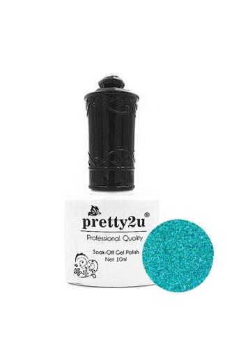 Pretty2u blue Soak Off Gel Polish 31 PR716BE76BBNMY_1
