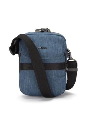 Pacsafe blue Pacsafe Metrosafe X Anti-Theft Compact Crossbody (Dark Denim) 56EB6AC93120B5GS_1