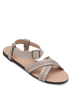 Perforated Flat Sandals