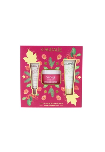 Caudalie CAUDALIE - Vinosource Intense Hydration S.O.S Set: Moisturizing Cream 50ml+ S.O.S Thirst-Quenching Serum 10ml+ Moisturizing Mask 15ml 3pcs 78501BEBAFB4B5GS_1