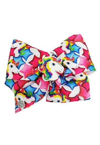 Jojo Siwa multi Jojo Siwa Bow With Clip (Star Rainbow Unicorn) 2BC53KC579C3F4GS_1