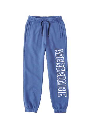 Abercrombie & Fitch blue Overt Logo Easy Fit Sweatpants E89F1KA8C40C21GS_1