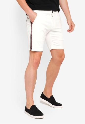 SPARROW GREEN white Cambridge Shorts A1126AA4D8363DGS_1