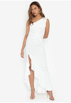 afc2a18b57 Deity white One Shoulder Grecian Long Dress FA2B2AAEF908E6GS_1