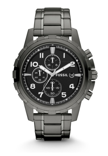 Fossil grey Dean Chronograph Watches FO359AC0K935PH_1