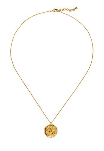 Mango gold Taurus Horoscope Necklace 577B3AC4AD8765GS_1
