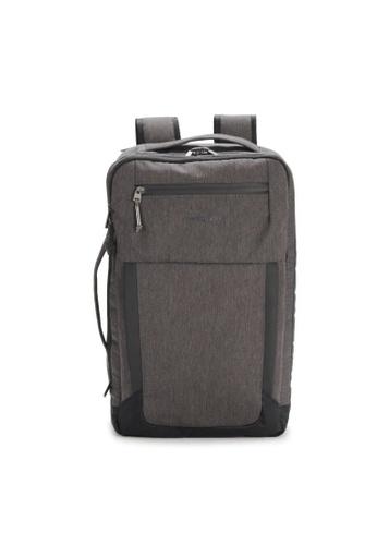 "Hedgren brown Hedgren Unisex Keyed Duffle Backpack 15.6"" RFID Dark Iron -17.2L 13200AC067B04CGS_1"