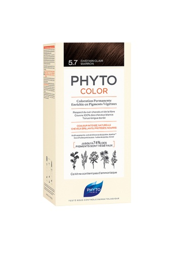 PHYTO Phytocolor 5.7 Light Chestnut Brown 2BAEEBECD73E44GS_1