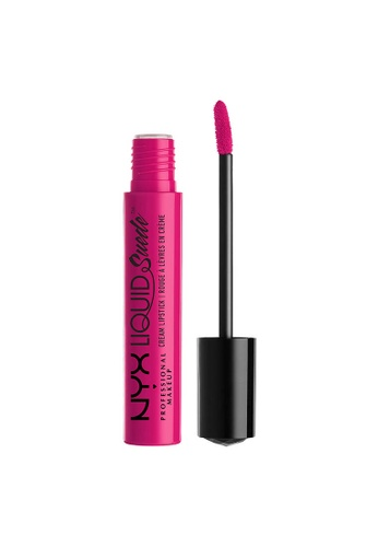 NYX Professional Makeup pink NYX Professional Makeup Liquid Suede Cream Lipstick - PINK LUST 3C02DBE3672FAEGS_1