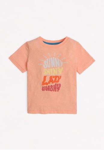 Gingersnaps orange Boys Sunny T-Shirt 65275KA406AA77GS_1