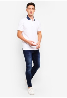 b901a7a3 45% OFF G2000 Indigo Washed Gusset Collar Polo Shirt S$ 53.00 NOW S$ 29.00  Sizes XS S XL