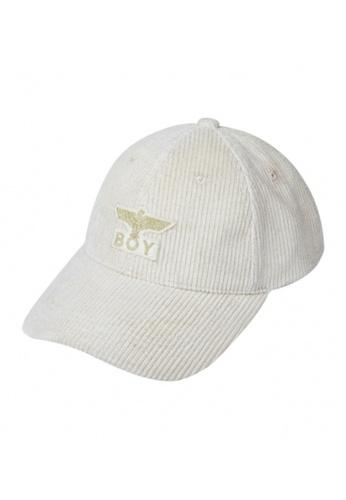 BOY LONDON white EAGLE BOY BASEBALL CAP 92905ACF320C53GS_1