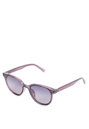 Urban State black Polarized Plastic Mars Square Sunglasses 2DDA0GL2FA5A28GS_1