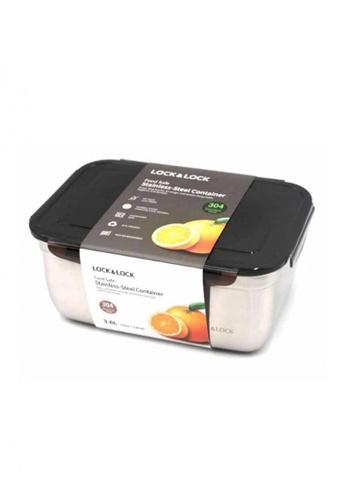 LocknLock n/a Stainless Airtight Food Container 3.6L 01F29HLB0C6D14GS_1