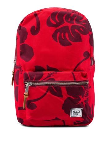 Herschel red Settlement Mid Volume Backpack C5399AC915C543GS_1