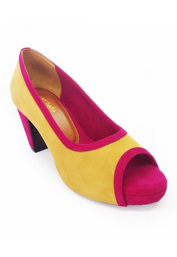 Divites Belle pink and yellow Rose DI855SH59UBWID_1