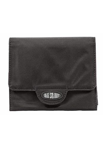 Big Skinny Wallets black Nylon Trixie Wallet BI722AC81KIOPH_1