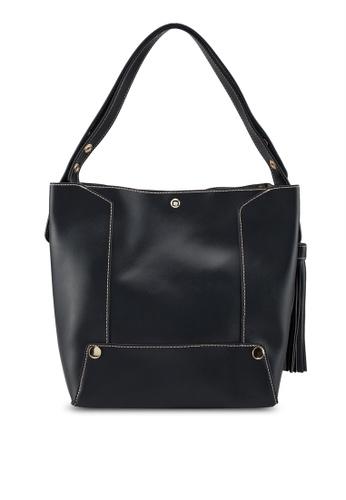 Shop Perllini Mel Faux Leather Single Handle Tote Bag Online on ... 913122cc2f83a