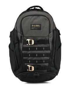 93281f1f6685 Under Armour black UA Huey Backpack 80045AC076285CGS 1