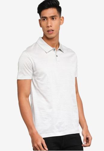 BOSS 灰色 T-Perkins 10 Polo Shirt E64A1AA204FE62GS_1