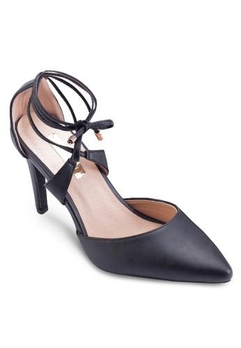 Terrano 繞踝側鏤空高跟鞋, esprit台灣網頁女鞋, 鞋