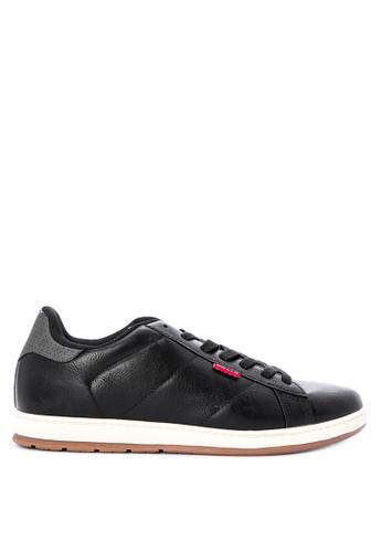 Levi's black Declan Millstone Two-tone Sneakers 78E60SH5077096GS_1