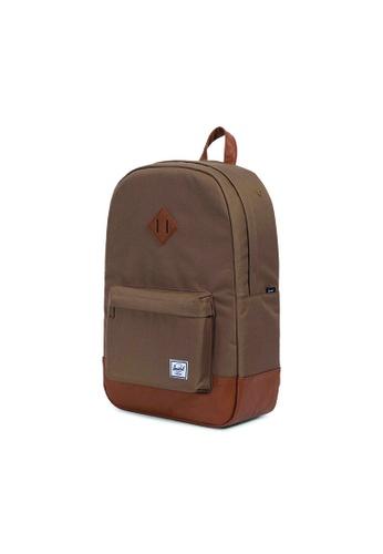 b6cd7f686809 Buy Herschel Herschel Heritage Backpack (Brown) - 21.5L Online ...