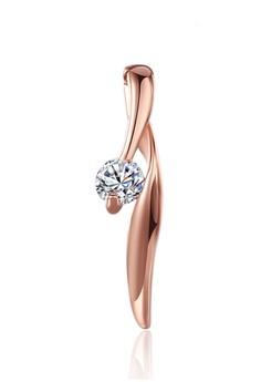 harga Tiaria Lady Fashion Pendant LKN18KRGPN200 Plated Rose Gold Aksesoris Liontin Zalora.co.id