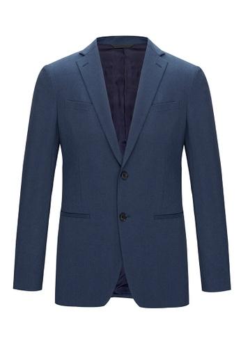 D'urban blue Tailored Two Piece Suit D71AFAA31C08EFGS_1