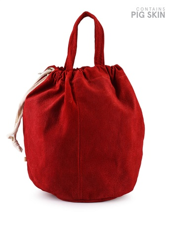 niko and ... red Leather Tote Bag C1CAEACC973EADGS_1