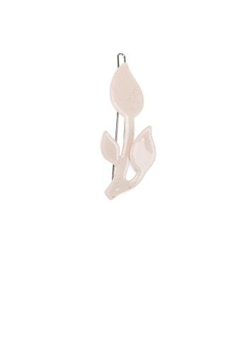 Glamorousky silver Fashion Simple Light Pink Flower Hair Clip E91ADAC8D24DBAGS_1