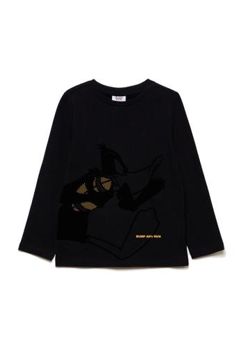 OVS black Warner Bros Looney Tunes T-Shirt 380ADKA72CE114GS_1