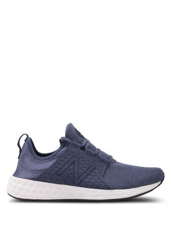 New Balance blue Cruz Fresh Foam Performance Running Shoes NE323SH0SVCOMY_1