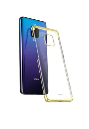 MobileHub gold Huawei Mate 20 Pro XUNDD Jazz Ultra Thin Clear Case A3555ACD202241GS_1