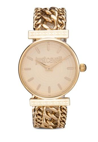 R7253578503 Just Couture 時尚鍊飾圓錶,zalora是哪裡的牌子 錶類, 飾品配件
