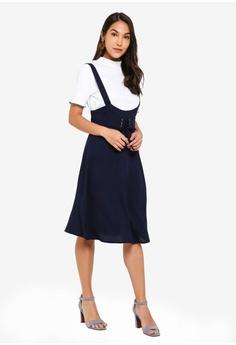 7bb8751513e77 38% OFF ZALORA Square Neck Cami Dress S$ 39.90 NOW S$ 24.90 Sizes XS S M L  XL