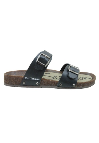 midzone black Outdoor Sandals MI949SH44BJBMY_1
